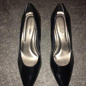 Comfort Plus Black Heels